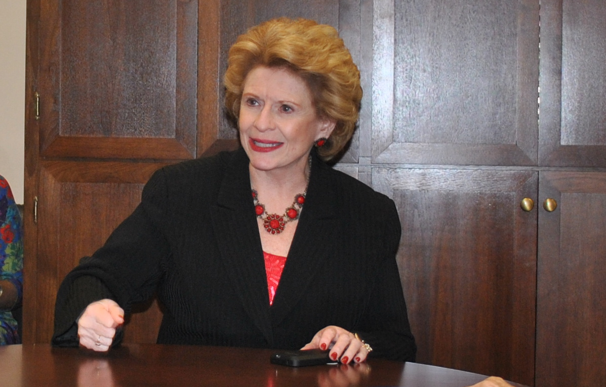 Sen. Debbie Stabenow (D - MI), Chair of the Senate Agriculture Committee, meets with  SAFSF members to discuss 2014 Farm Bill gains and future opportunities in sustainable agriculture.
