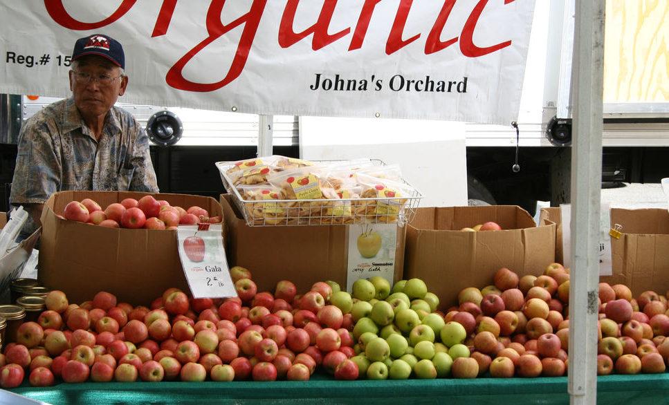 Organic apples. Photo credit: Jim Winstead.