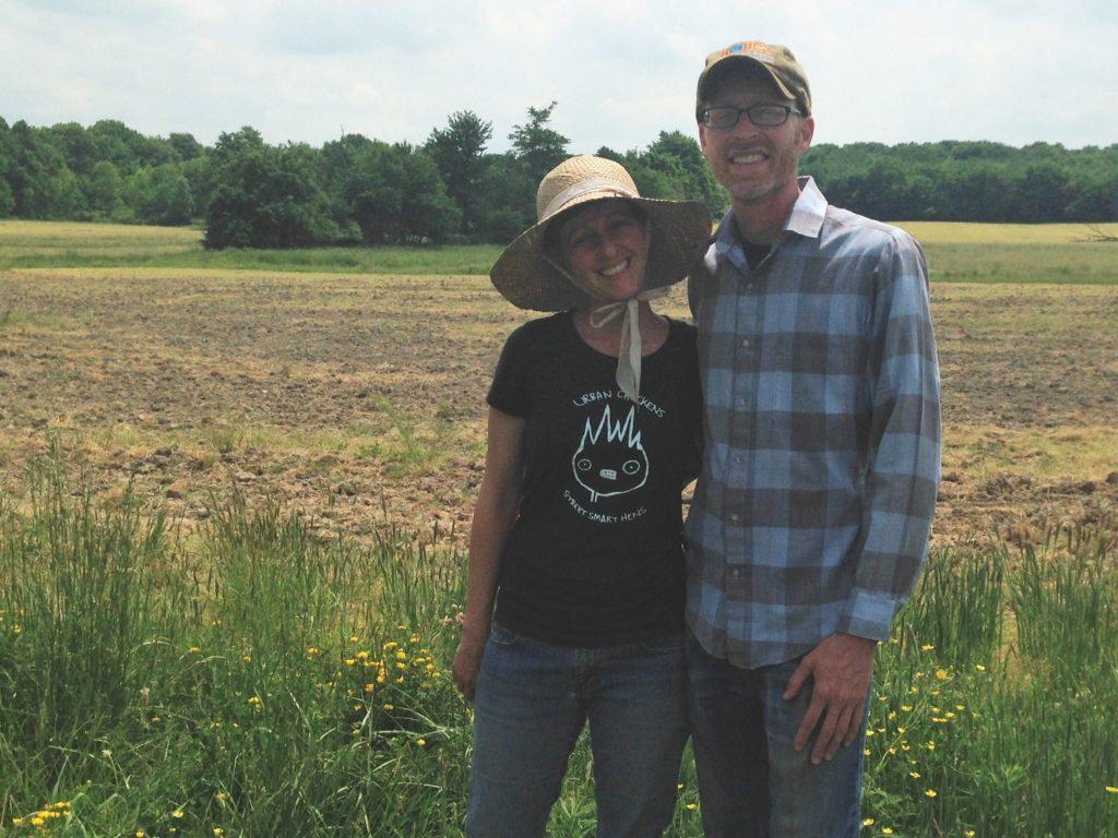 Julia and Patrick. Photo credit: Ohio Ecological Food and Farm Association.