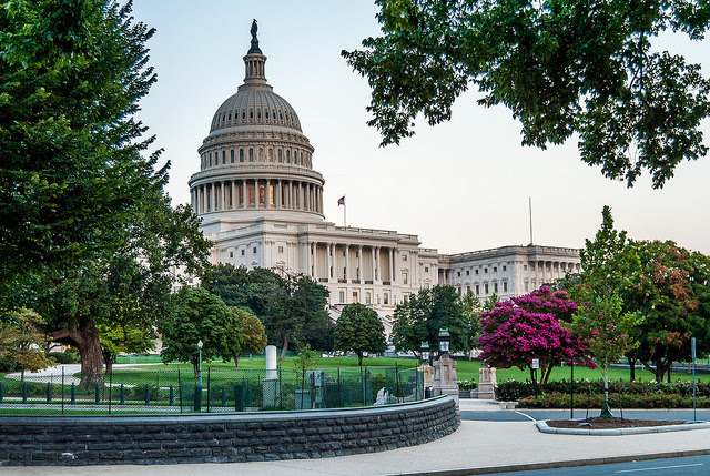 Photo: The US Capitol Building. Credit: USDA